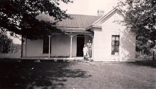 Gracey homestead in 1949