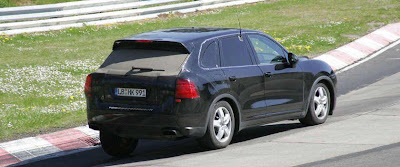 Baby Porsche Cayenne Spy Photo