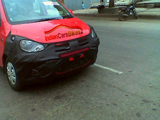 New Hyundai i10 Spy Photo
