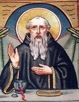 San Benito se libra milagrosamente del veneno