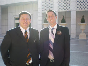 Elder Miller and Elder Gunn
