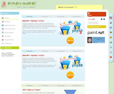 forumer free web forum hosting for web show producers
