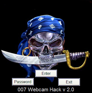 This a nice tool to hack webcam in many chat messengers.