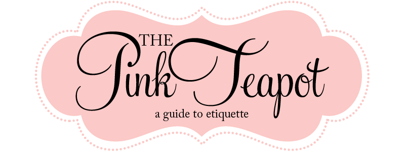 The Pink Teapot- A guide to Etiquette
