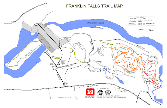 Franklin Falls Trail Map from CNH Nemba