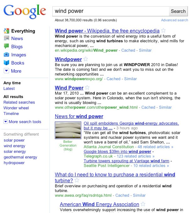 Google New Look UI Released Google New Look UI Released Everything   Wind Power