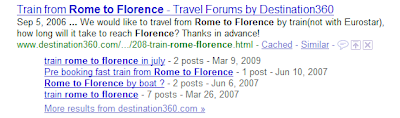 Google showing revised forum results in SERPS