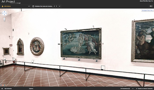 uffizi OMGigapixel!: Google Art Project launches and its beautiful!