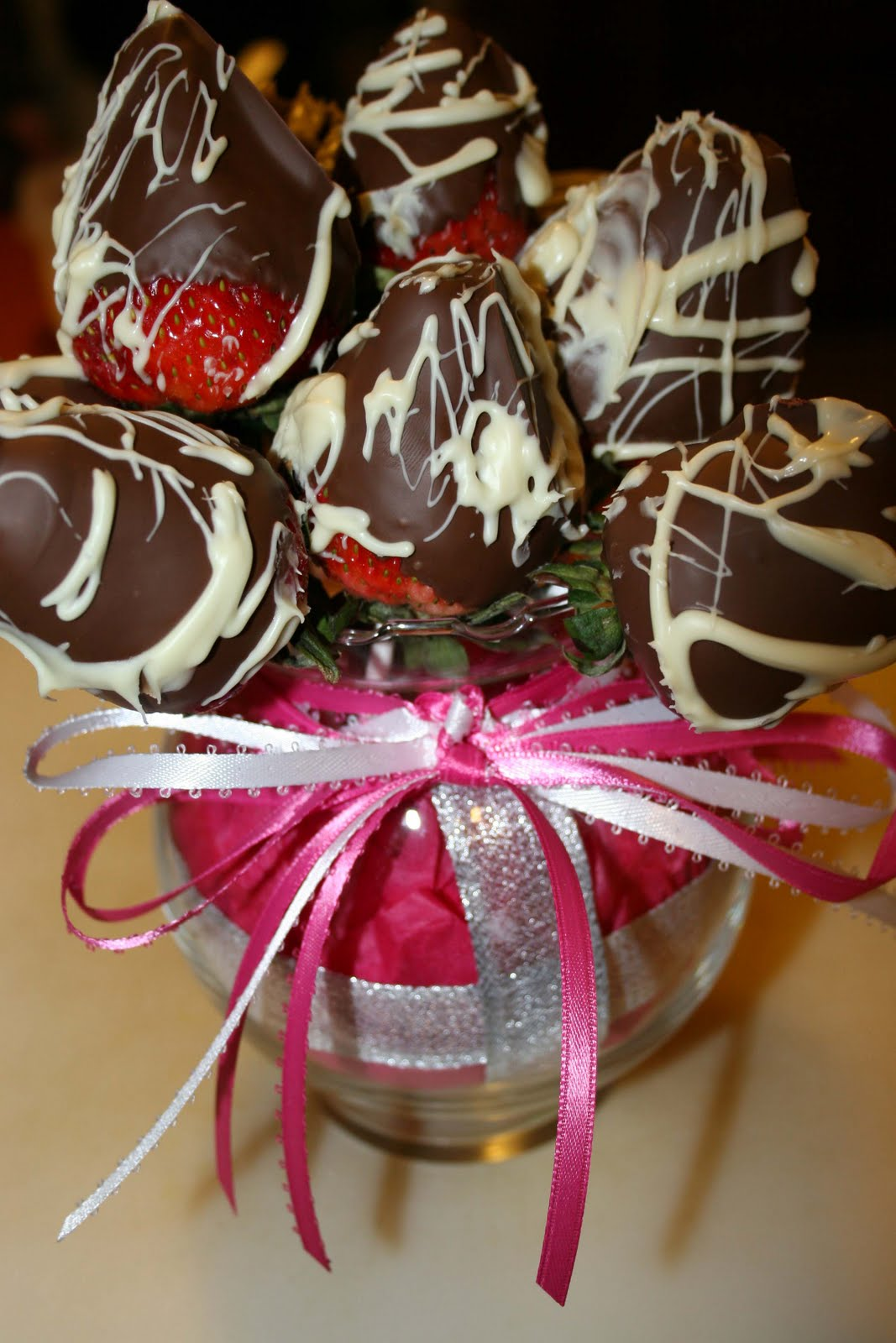 Strawberry Bouquet Designs By A Rose