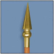 Saint Patrick Gold Spear