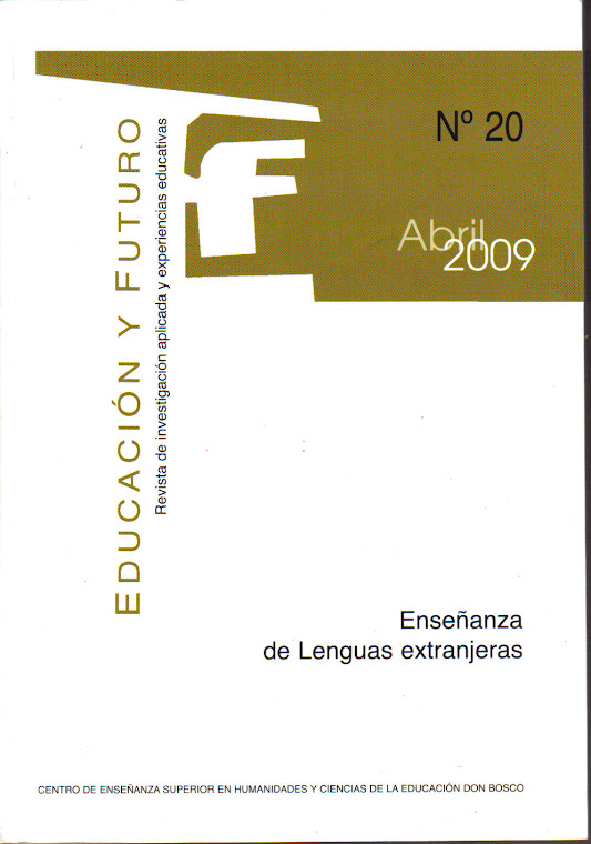 Educación y Futuro:  Journal for Applied Investigation and Experiences in Education
