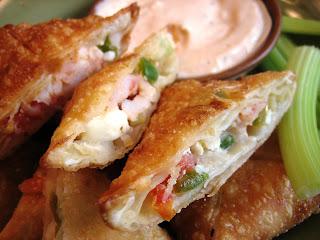 spicy shrimp wontons appetizer