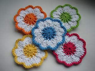 Ravelry: Crochet Pumpkin Coasters PDF Pattern pattern by