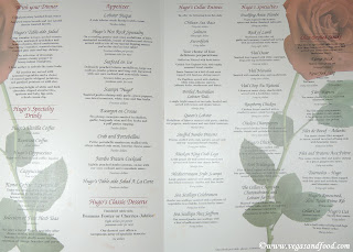 Hugou0027s Cellar menu & Four Queens - Hugou0027s Cellar Nov. 2008 - Vegas and Food