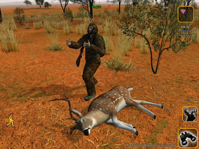 hunter game online