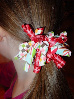 crafts for a little girl: korker hair ribbons tutorial