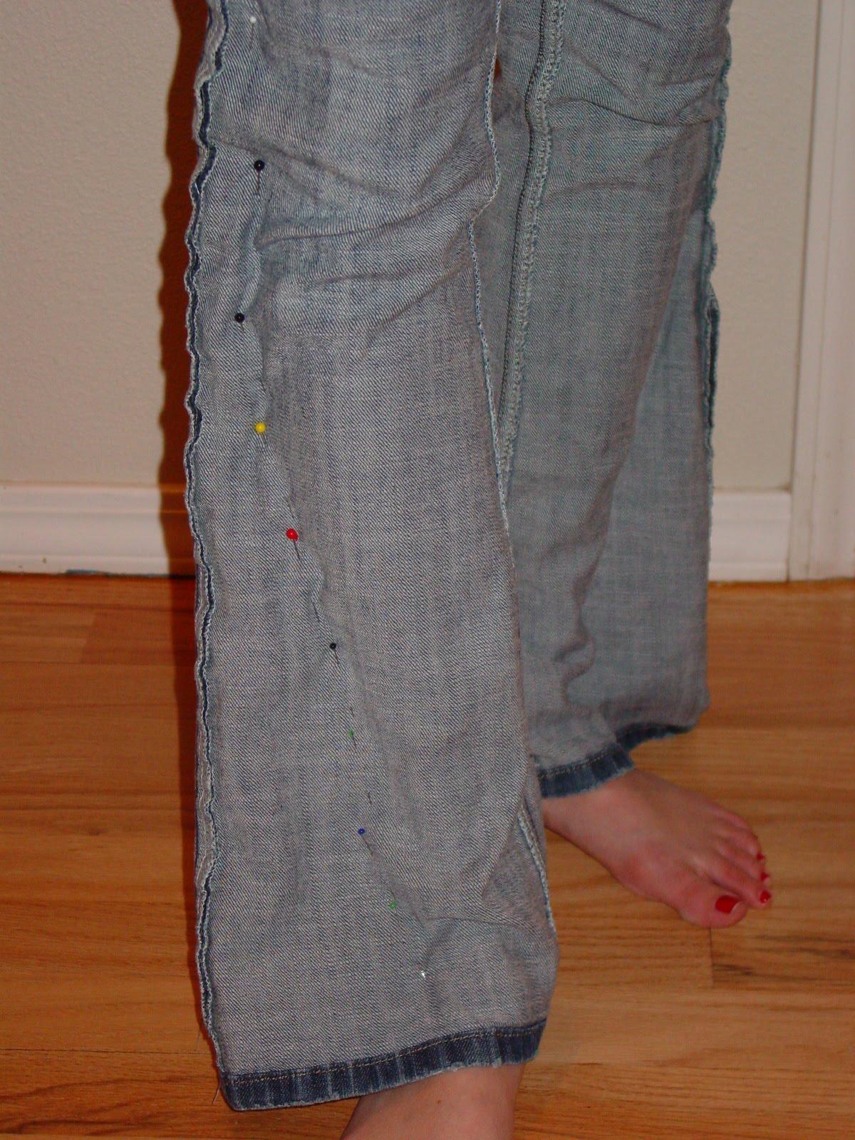 Как заузить юбку в домашних условиях Блог О шитье » Как ушить джинсы по талии