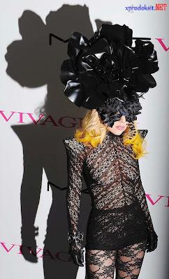Lady GaGa Maskeli Kostüm