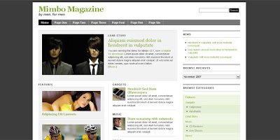 Mimbo Magazine Wordpress Theme