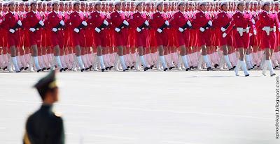 Çin Ordusu Geçit Töreni