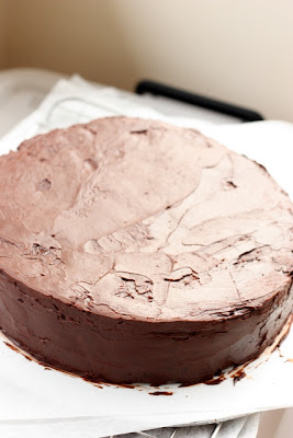 Uncooked Chocolate Brandy Cake