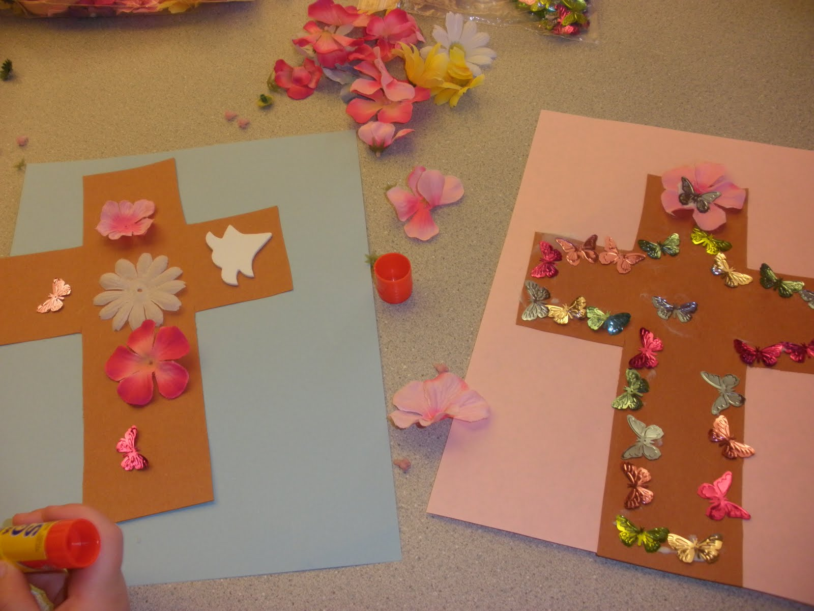 Lord make me a saint easter crafts for Religious crafts for adults