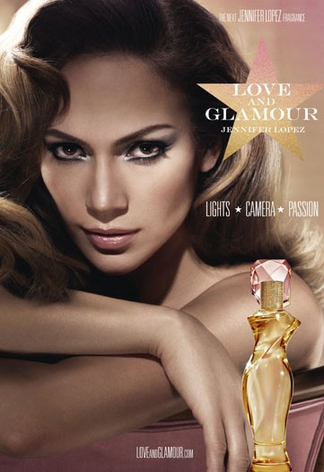 "of femininity,"" JLo introduces Love and Glamour perfume for women!"