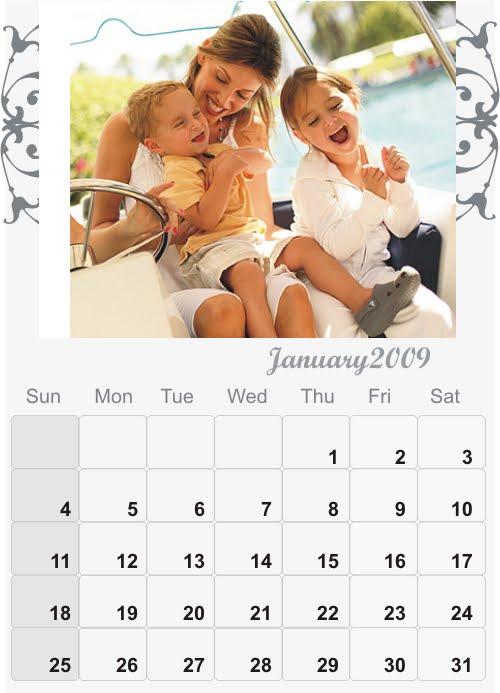 Graphic Design India – Calendar Sample Design