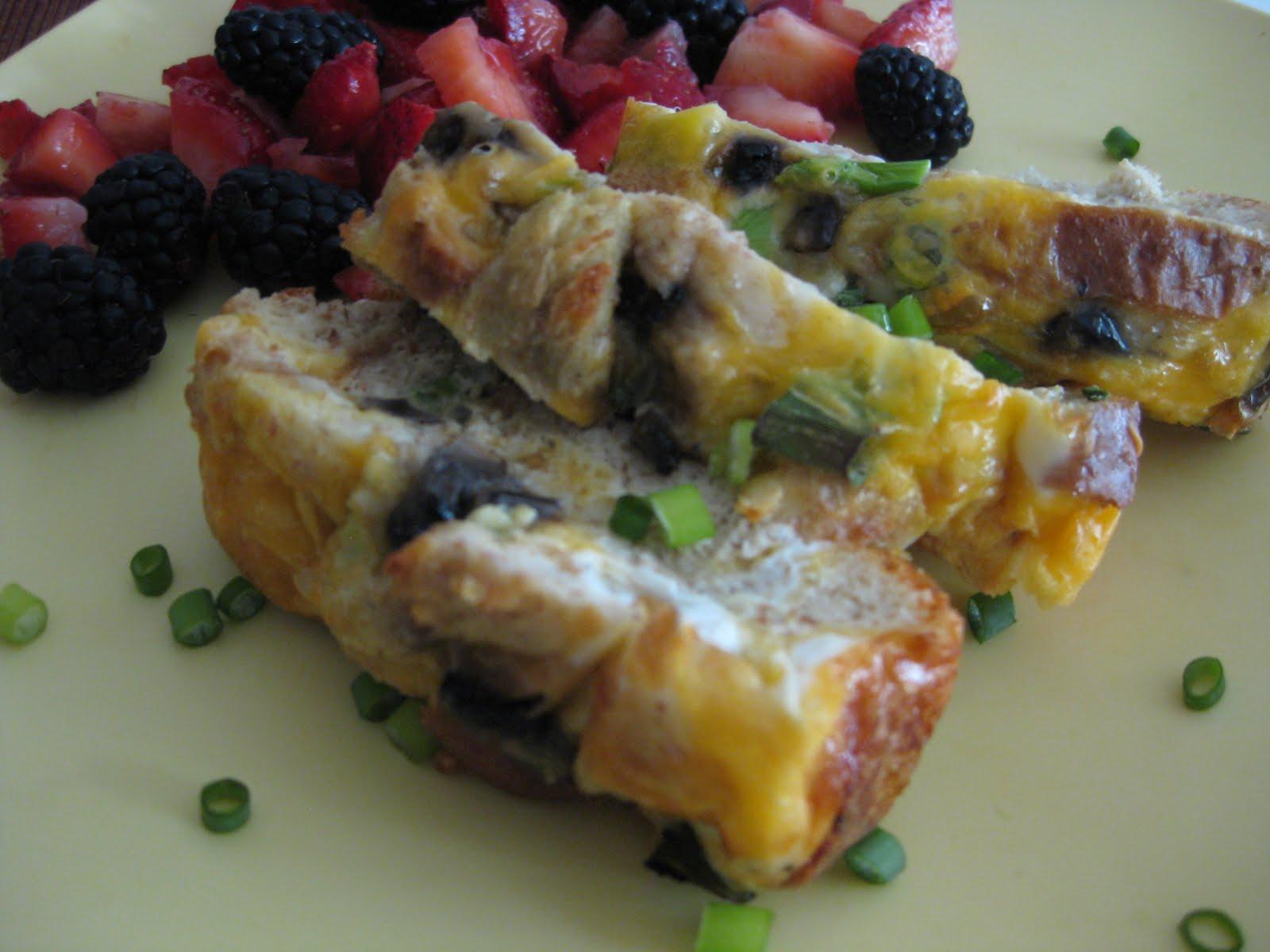 Chow BellaVegetarian Breakfast Casserole