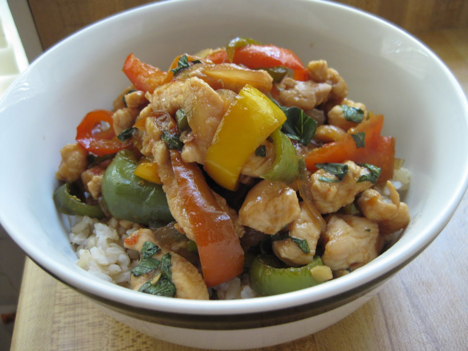 Chow Bella: Spicy Thai Basil Chicken
