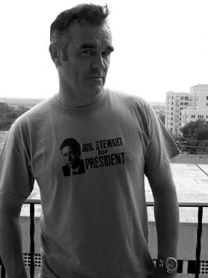 morrissey, mozzer, jon stewart for president