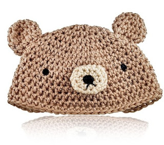 amigurumi bear rabbit crochet pattern for baby hat