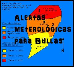 ALERTAS METEOROLOGICAS PARA BULLAS