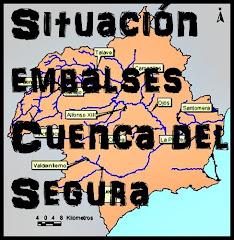 SITUACIÓN DE LOS EMBALSES DE LA CUENCA DEL SEGURA