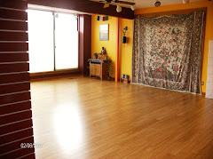 Inside Lotus Yoga:  the studio