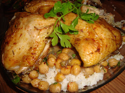 the world cuisine: Chicken and Chickpeas Pilaf ( Tavuk Nohutlu Pilav ...