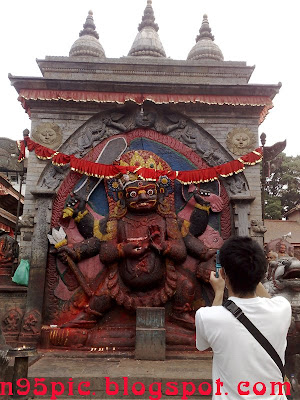 Lord bhairav temple in nepal,Bhairava temple,Bhairava photos,bharaiv temple at hanuman dhoka,pictures of lord bhairava ,bhairav pictures