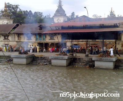 cremation ground in pashupatinath