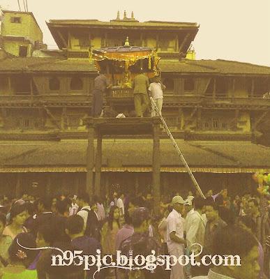 chariot of kumari