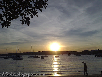 sunset,beautiful sunset, beach sunset,sunset in sydney,sunset in sea,n95 and iphone,n95 pictures, n95 feature,nokia,nokia n95