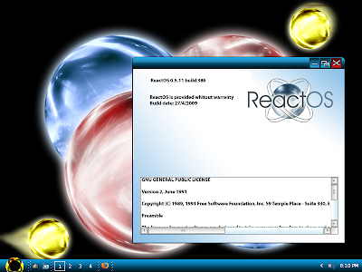 ReactOS Vista