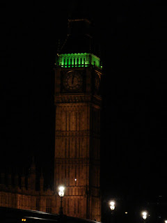 Photo by Rullsenberg: Houses of Parliament, London at night