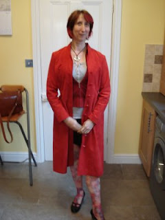 Photo by Cloud: Rullsenberg in red suede coat