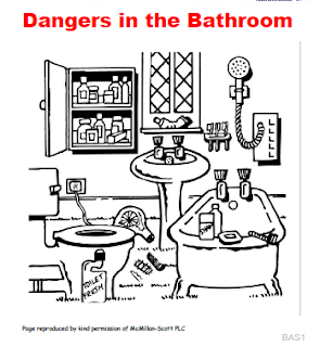 Printables Electrical Safety Worksheet teaching students with learning difficulties electrical safety dangers in the bathroom worksheet also see my blog entries for health and safety
