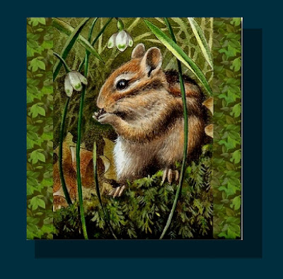Chipmunk Art