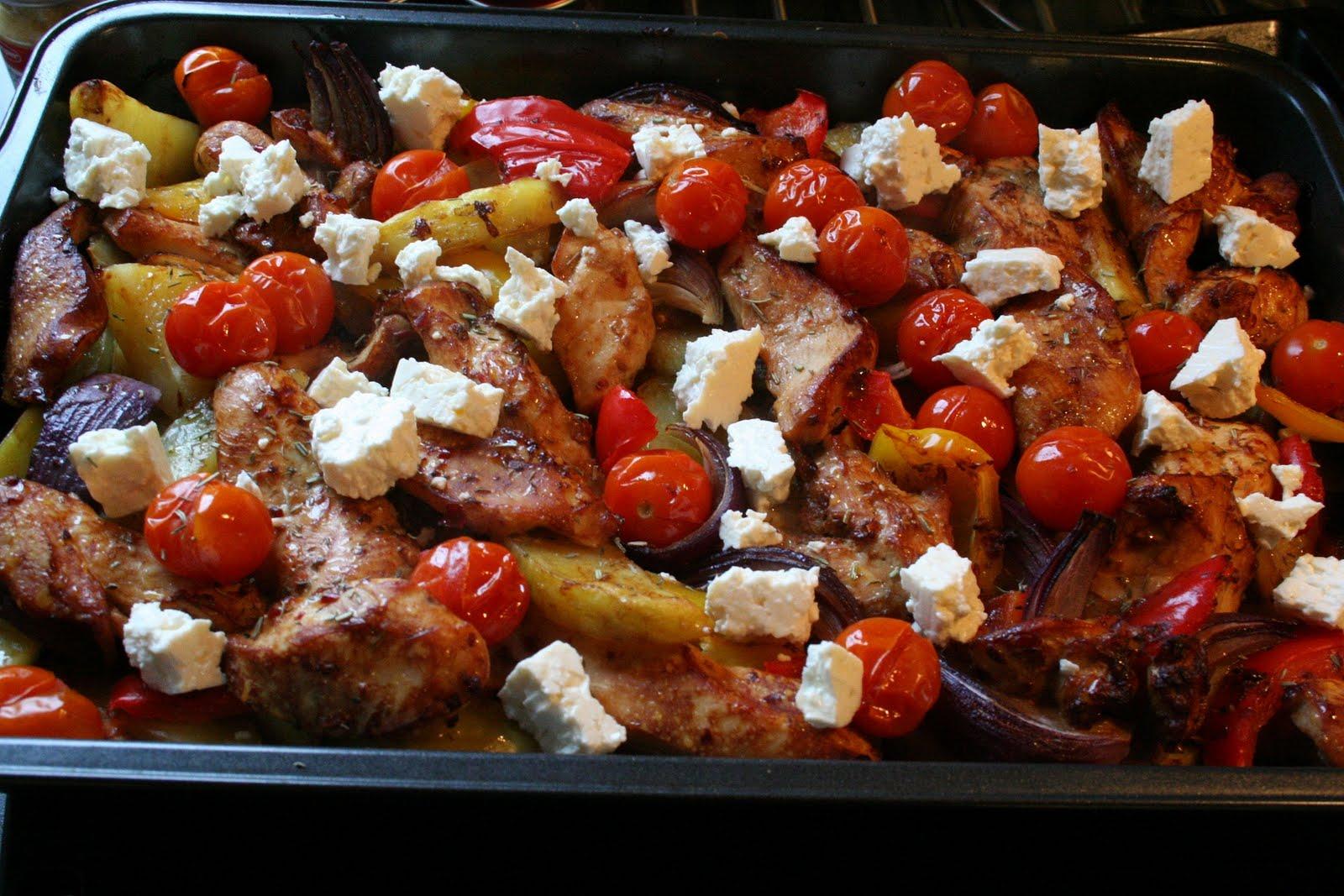 recept grekisk kyckling