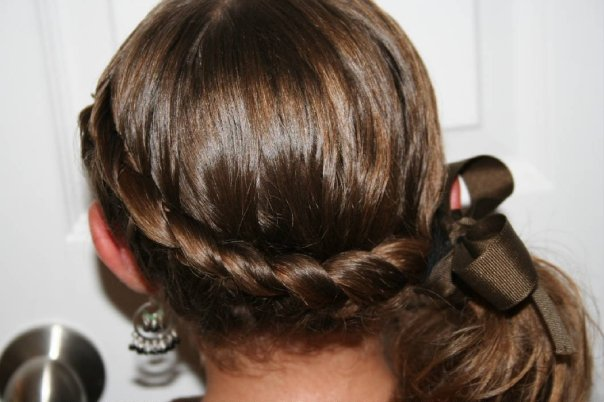 french braids hairstyles. girlfriend French Plait