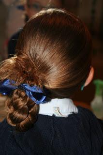 Quick Hairstyles: Ponytail Half Braid   Cute Girls Hairstyles