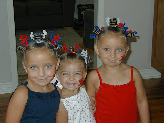 4th of July Hairdo