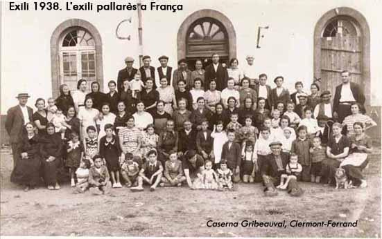 Exili 1938. L'exili pallarès a França